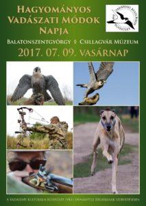 2017 vadászati nap plakat